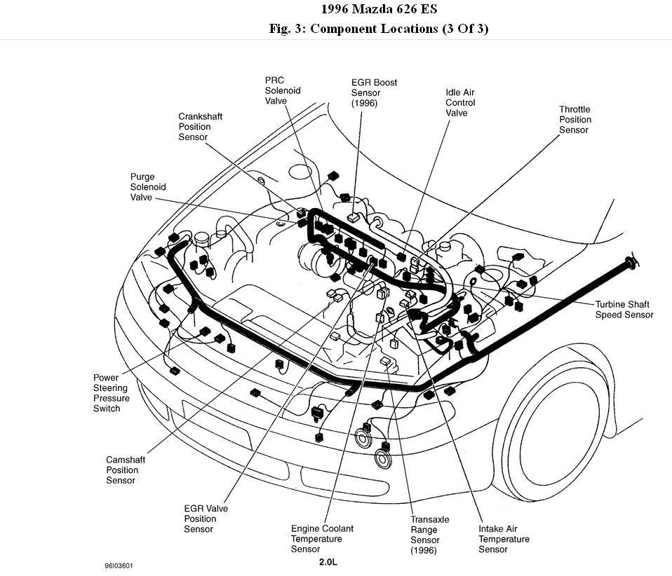Mazda Gas Line Diagram