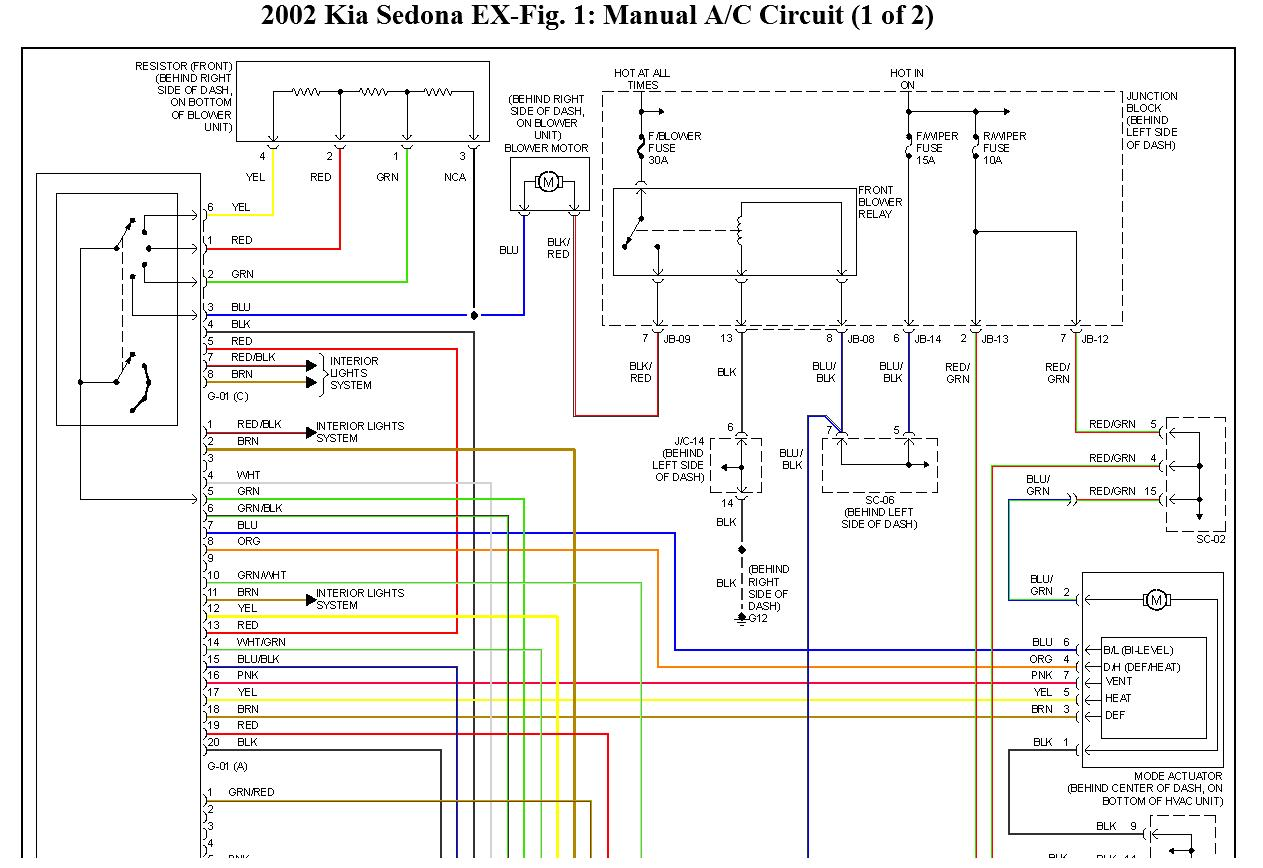 original kia picanto wiring diagram dolgular com kia sedona wiring diagram at panicattacktreatment.co