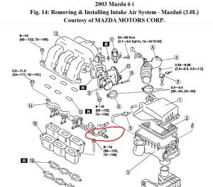 2002 Mazda 6 Engine Diagram Needed: I Would Like to