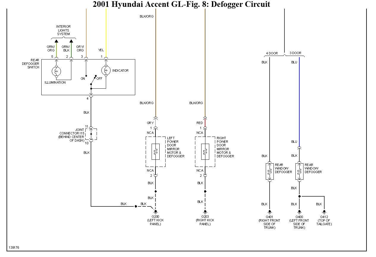 Hyundai Accent Fog Light Wiring Diagram