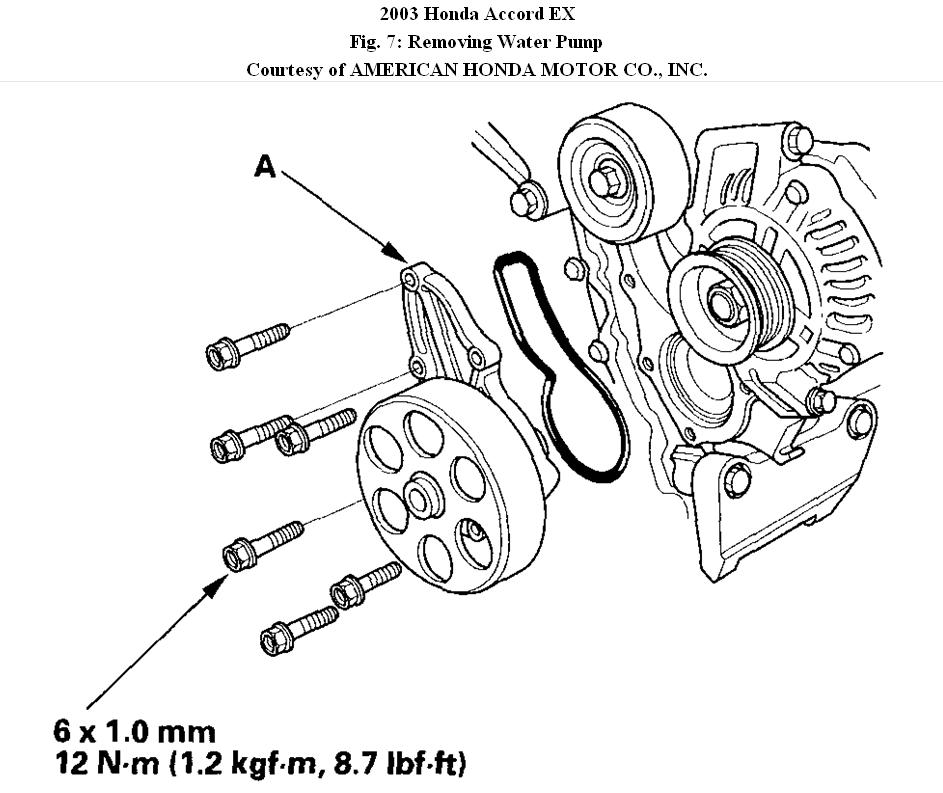 1996 Honda Accord Engine Diagram