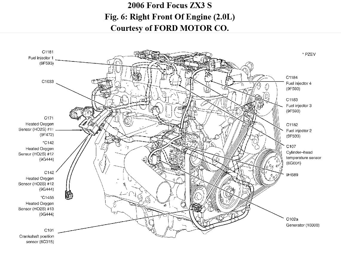 Ford Focus Wiring Diagram 2007