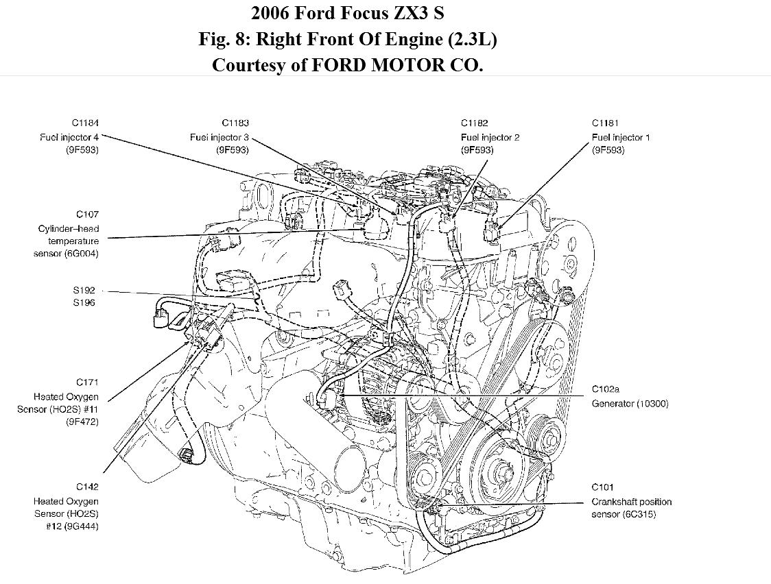 2008 ford focus engine diagram