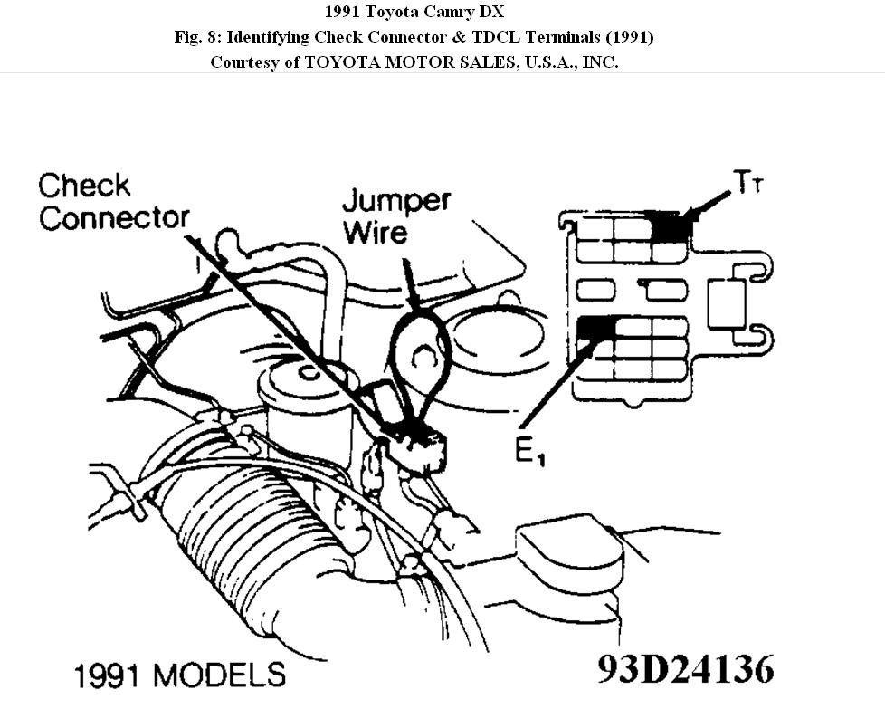 1994 Toyota Camry Parts List