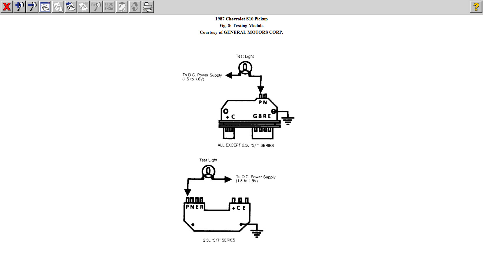 Wiring Diagram For S10