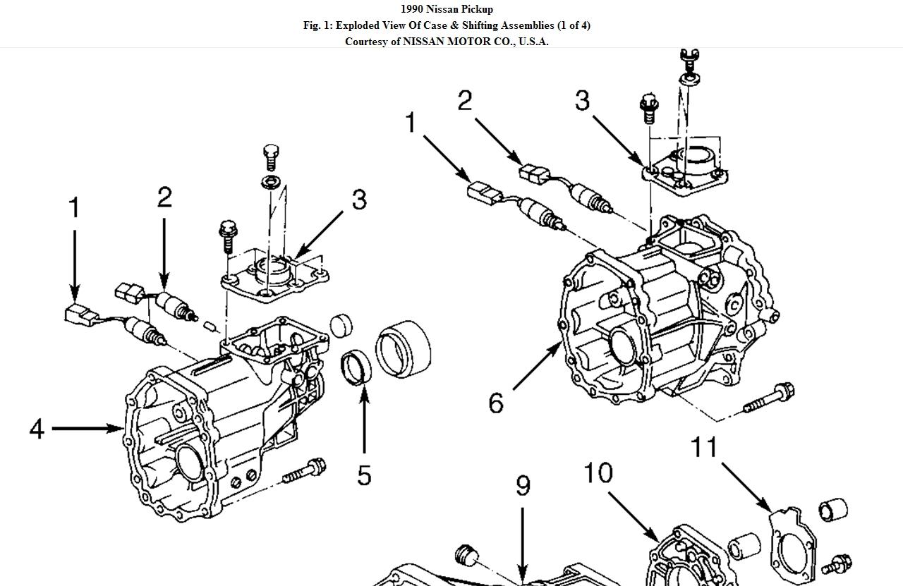 Nissan Hardbody Gear Box