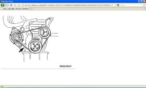 Need Diagram for Kia Sephia 01 Serpatine and Alternator Belt
