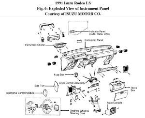 95 Isuzu Rodeo Fuse Box Diagram   Wiring Library