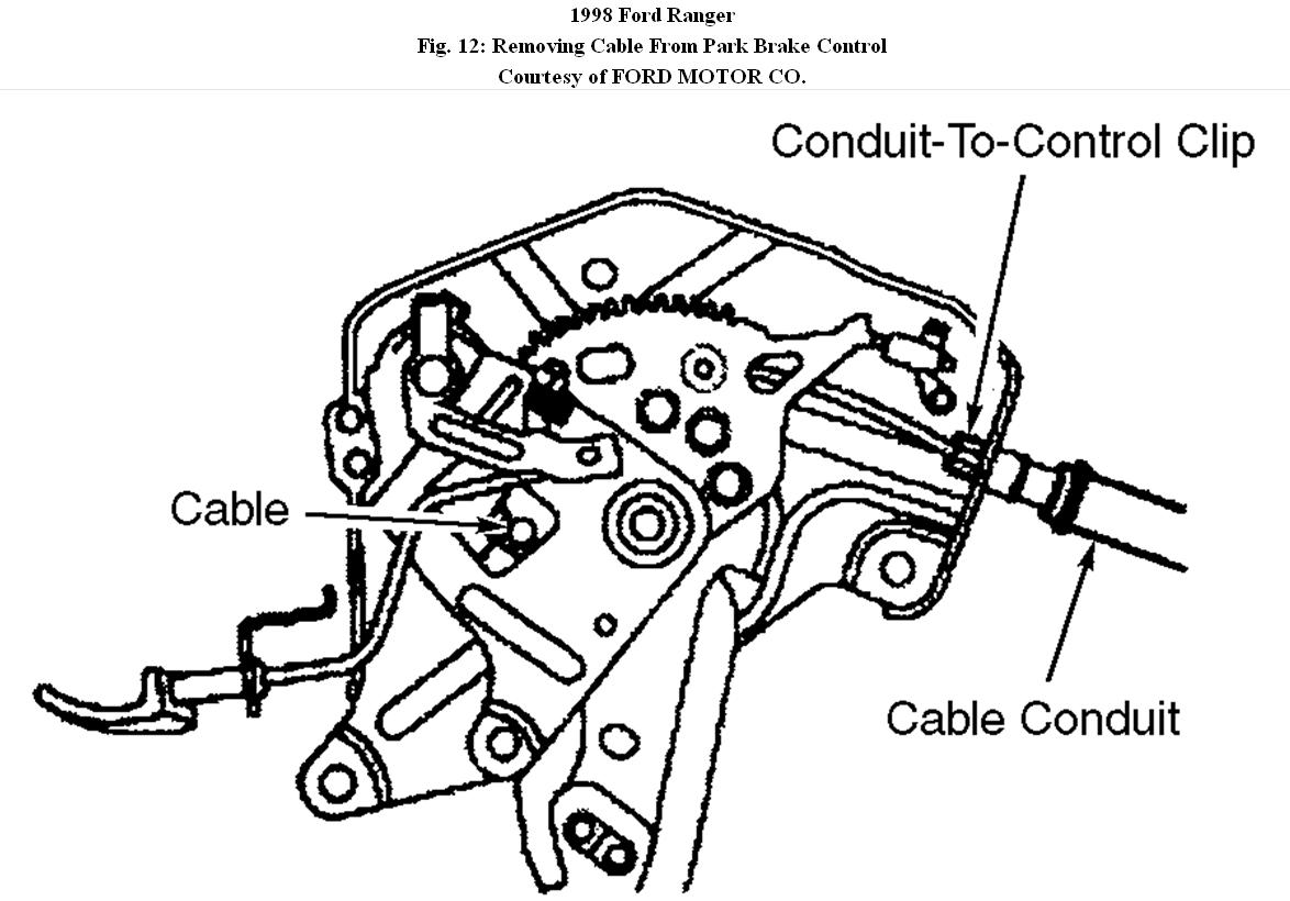 Ford Ranger Emergency Brake Diagram
