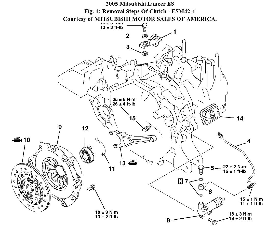 Mitsubishi Lancer Parts Diagram