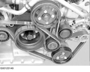 2000 BMW X5 Serpentine Belt Routing and Timing Belt Diagrams