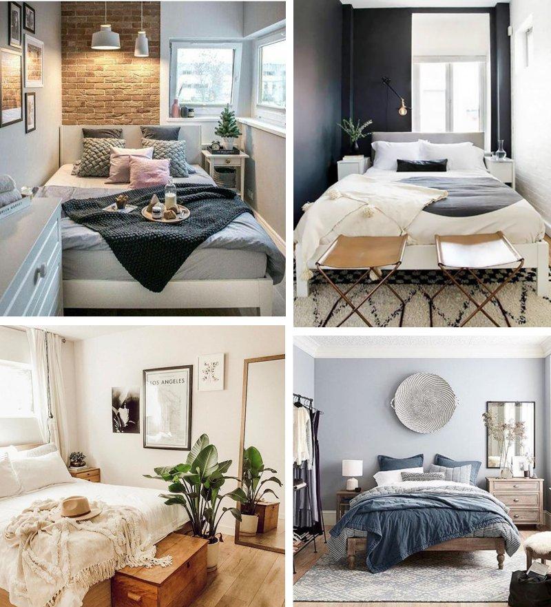 Amplifica și cele mai mici sunete, pot da dormitorului un aer neprimitor. Modele De Dormitoare Mici Pline De Viata 2 Chic