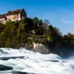 Das Schloss Laufen am Rheinfall in Schaffhausen