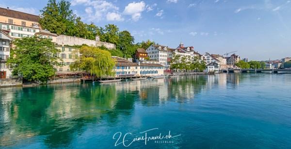 Zürich Limmatquai Lindenhof