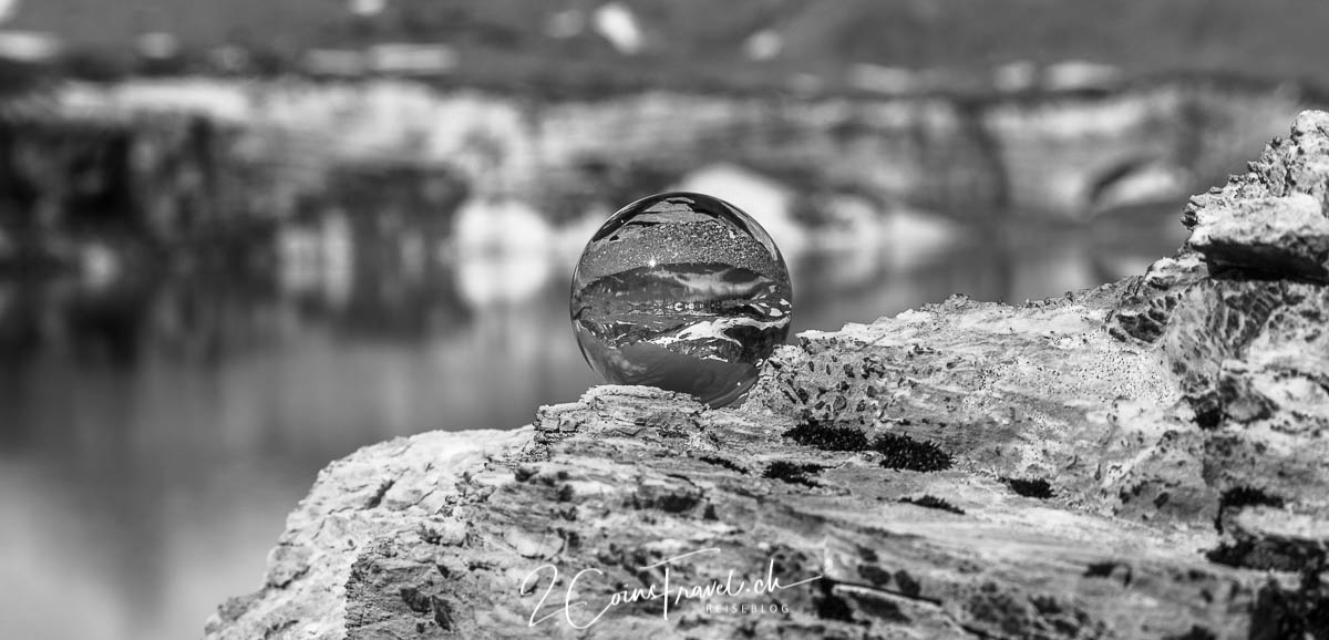 Glaskugel Aufnahme am Griesslisee