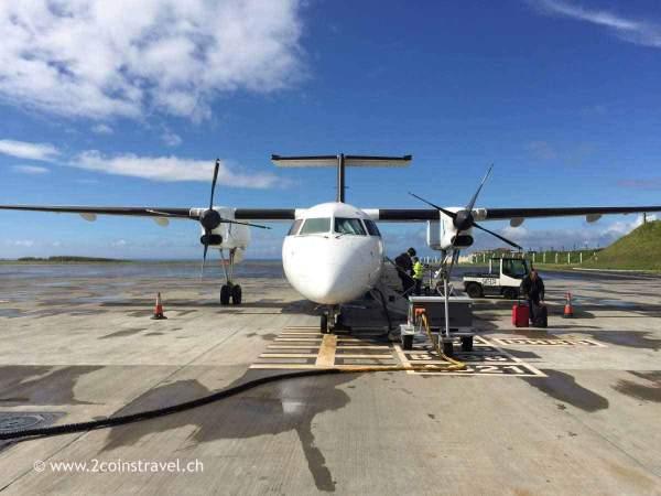 Flugzeug Sata Airlines Flughafen Ponta Delgada