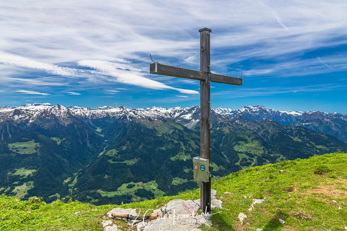 Gipfelkreuz auf dem Leistchamm