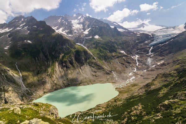 Triftsee und Gletscher