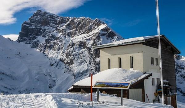 Bergstation und Titlis