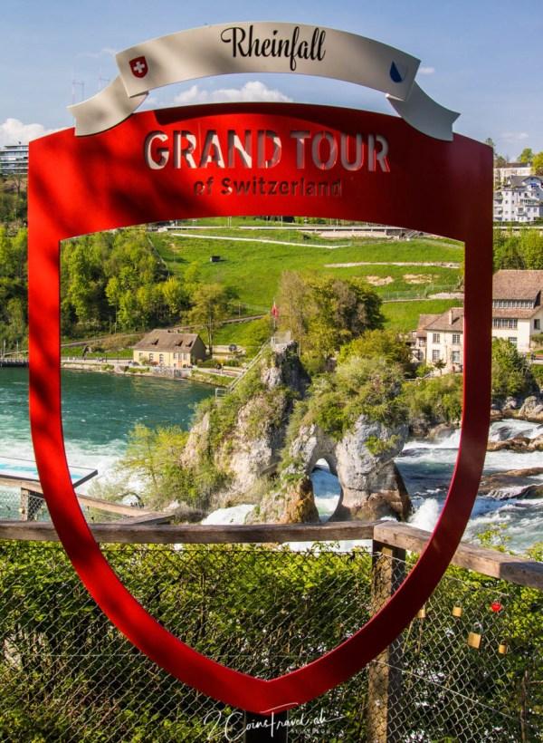 Grand Tour of Switzerland Rheinfall Schaffhausen