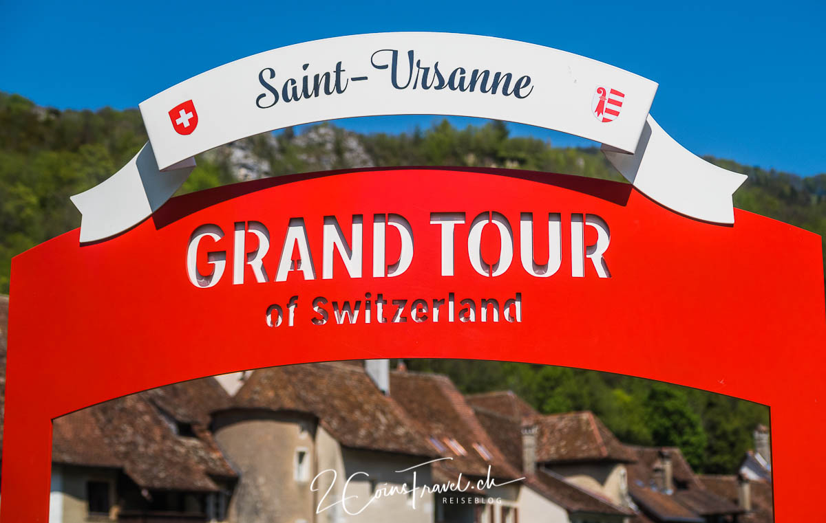 Grand Tour of Switzerland Foto Spot Saint Ursanne