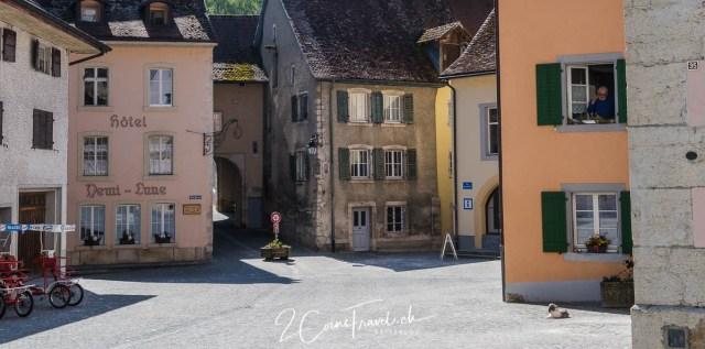 Marktplatz Saint Ursanne