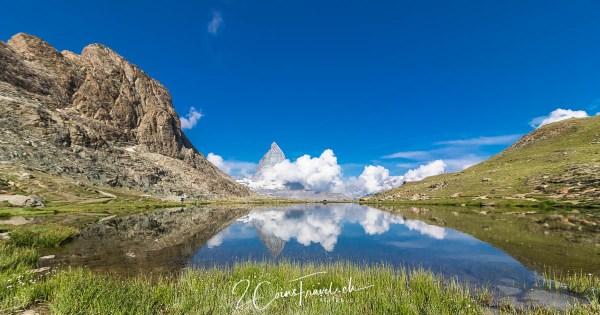 Riffelsee Zermatt Matterhorn