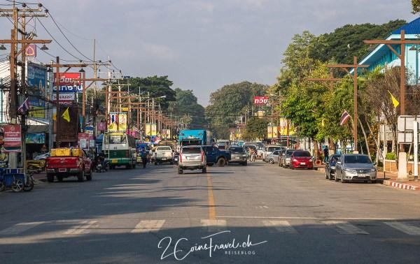 Chiang Saen Hauptstrasse