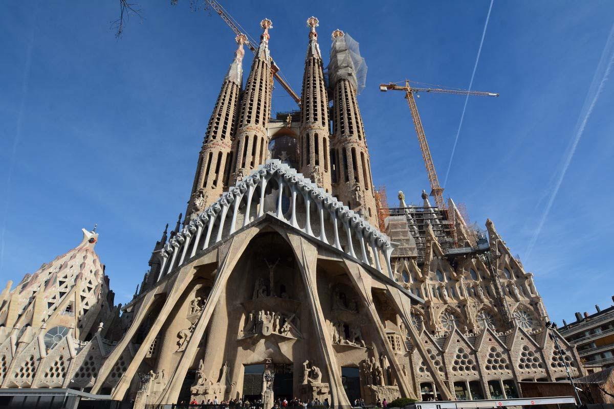 Barcellona a Natale con un clima primaverile
