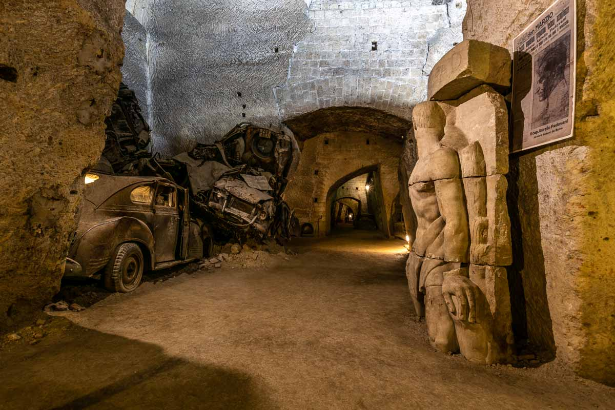 Galleria Borbonica : nei sotterranei di Napoli