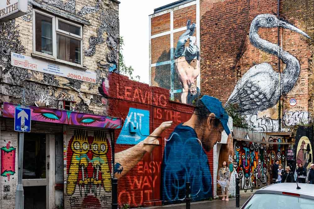 Tre giorni a Londra : itinerario insolito