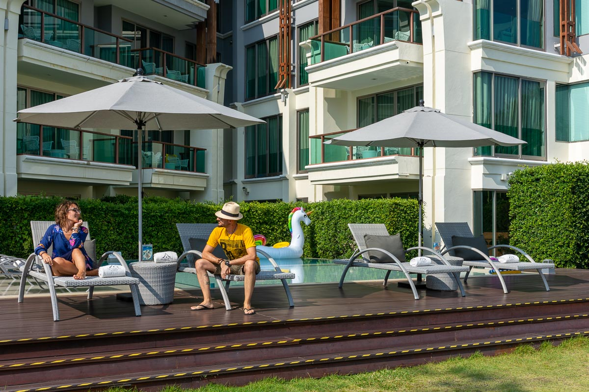 Chiang Mai : Hotel vicino al fiume