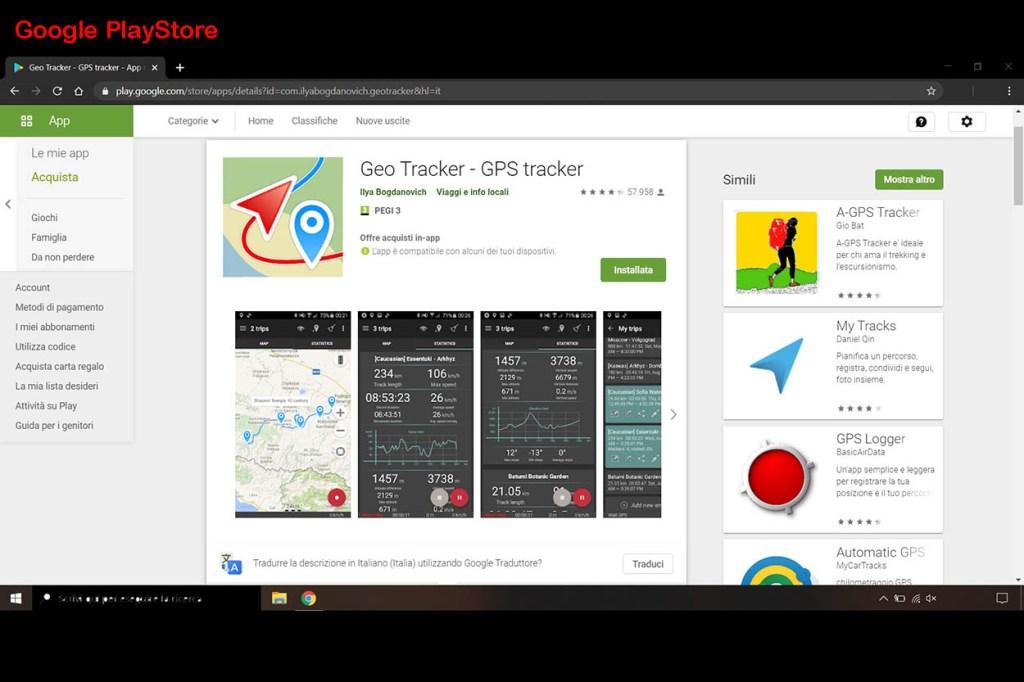 Come inserire il geotag nelle foto Geoa Tracker 2 Cuori in Viaggio