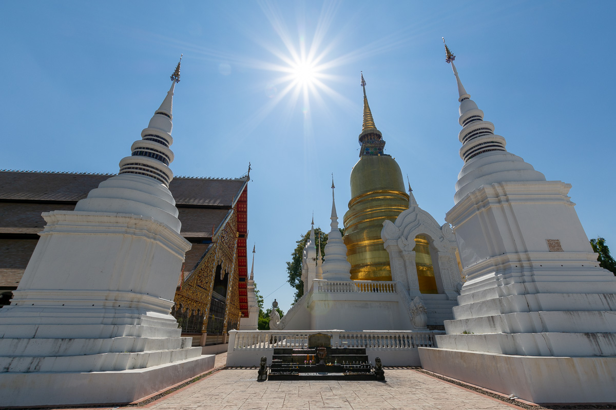 I numerosi Templi di Chiang Mai