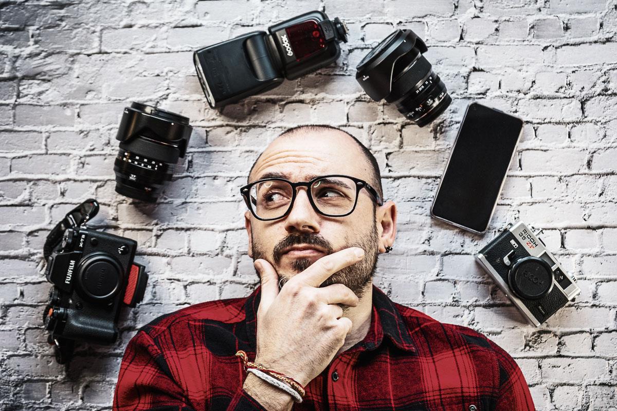 E' vero che l'attrezzatura fotografica non conta?