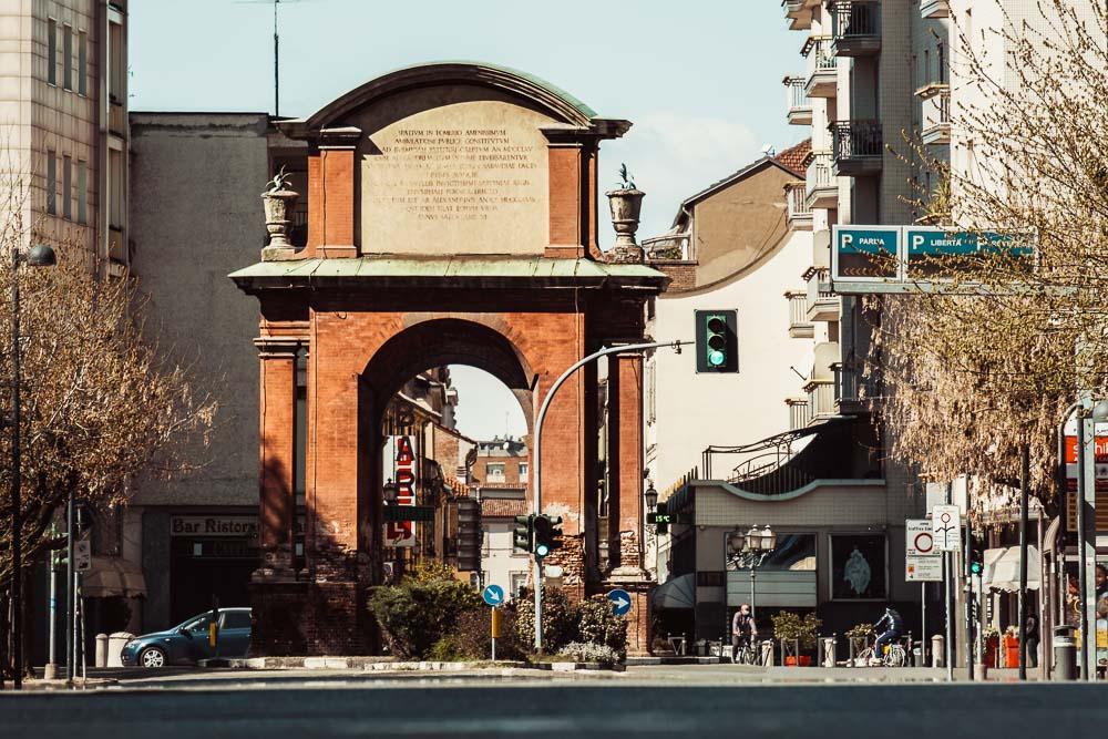 Alessandria cosa vedere Arco 2 Cuori in Viaggio