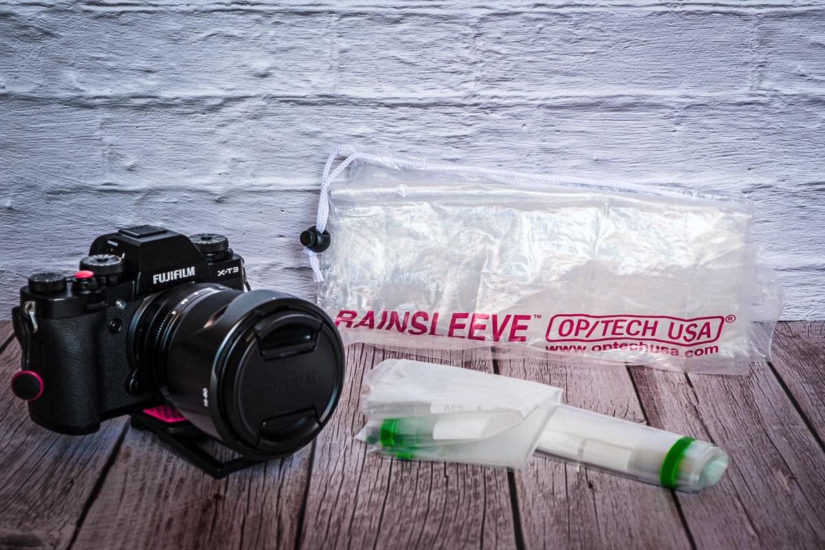 Proteggere la fotocamera da pioggia e salsedine