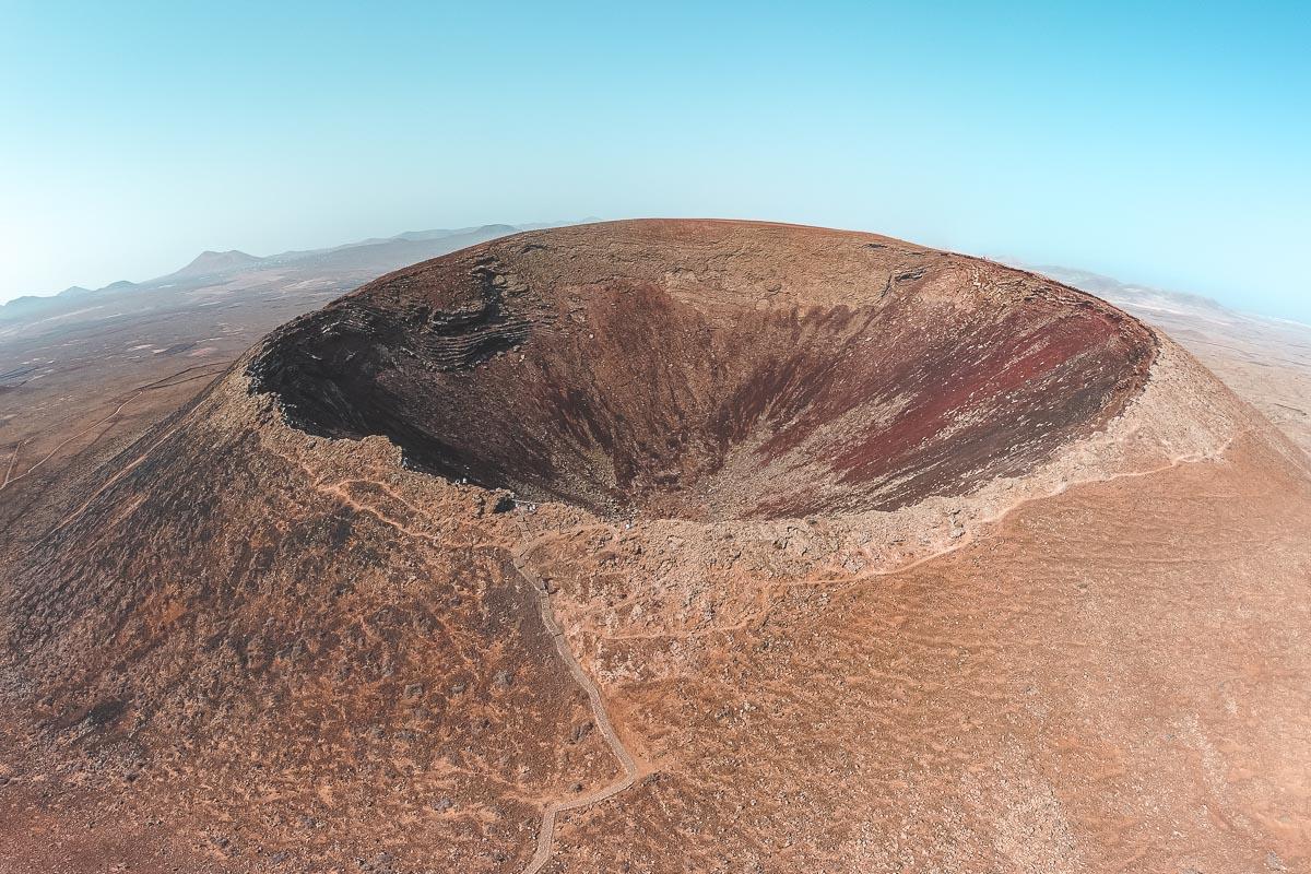 Trekking al Calderon Hondo a Fuerteventura