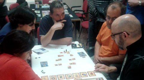 Probando el juego en JESTA 2014