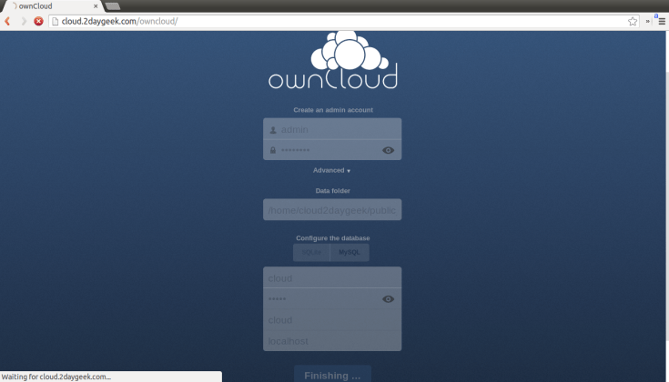 create-your-owncloud-storage-using-owncloud-opensource-app-via-web-installer-method-10