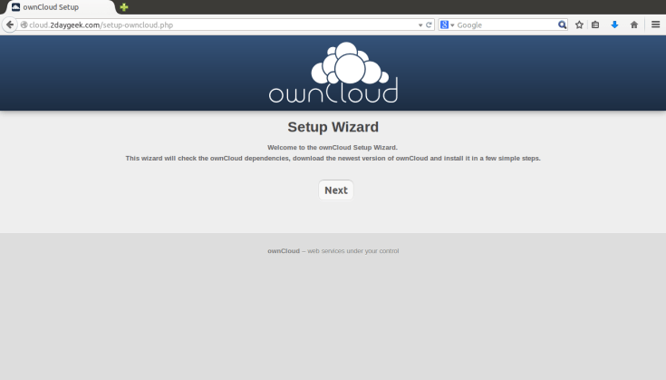 create-your-owncloud-storage-using-owncloud-opensource-app-via-web-installer-method-3