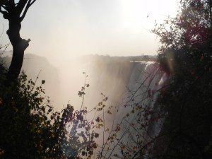 Victoria Falls from Zambia side