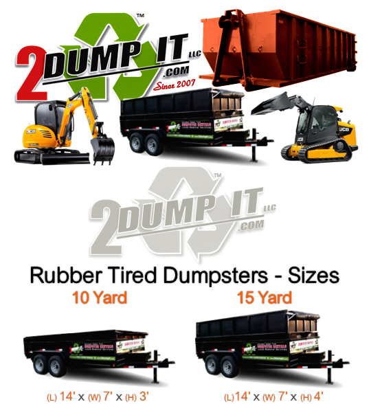 2 DUMP IT Dumpster Rentals
