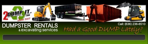 Dumpsters, Dumpster Rentals St Louis MO - 2 DUMP IT Dumpster Rentals