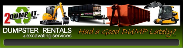 2 DUMP IT Dumpsters Dumpster Rentals, Excavating Services St Louis MO