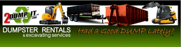 2 DUMP IT Dumpster Rentals and Excavating Services St Louis MO