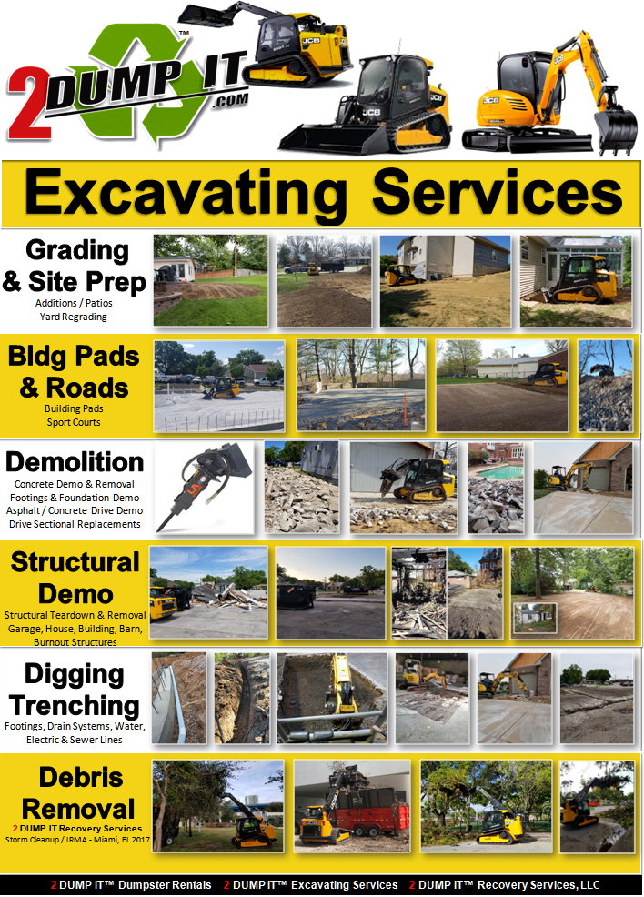 Excavating Contractor, Demolition, Grading, Land Clearing St. Louis, MO