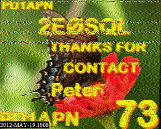 SSTV QSO