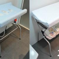 Restaurando una bañera cambiador para bebés