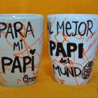 Ikea Hack: Tazas personalizadas como regalo DIY para el Día del padre